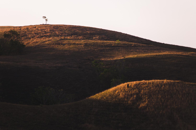 Cap Karoso- Hills-sunset